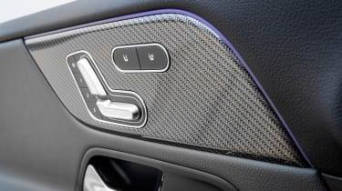 Mercedes-AMG GLB 35 - seats controls
