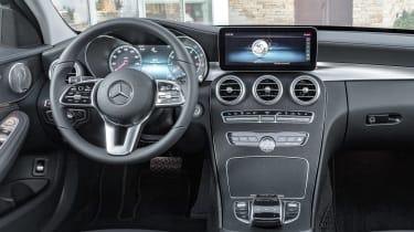 Mercedes C-Class Estate - dash