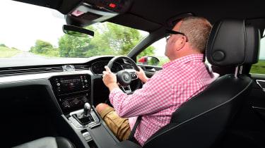 Volkswagen Arteon - driving