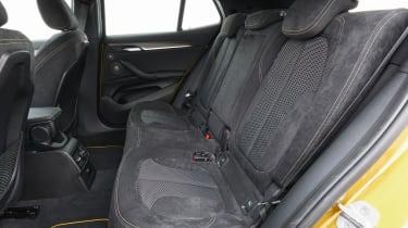 2018 BMW X2 - back seats