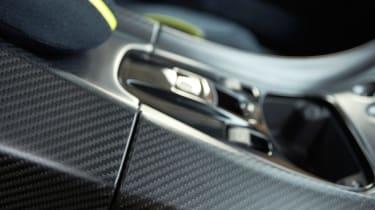 Aston Martin Rapide AMR - centre console