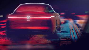 Volkswagen I.D Vizzion - studio full rear