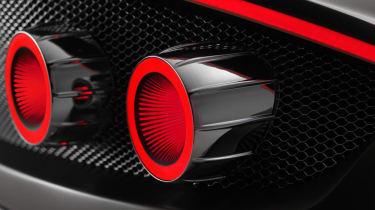 Spyker Preliator - rear detail