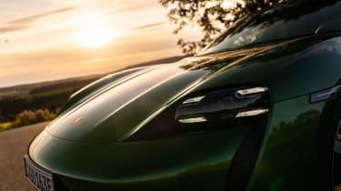 Porsche Taycan Turbo S - front light