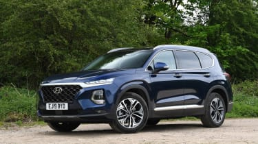 Hyundai Santa Fe - long-term first report front static