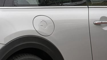 MINI electric - spy shots - charging port