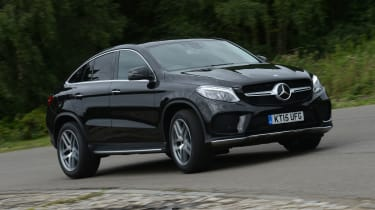 Mercedes GLE Coupe - front cornering