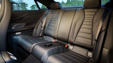 Mercedes E 400 d  Coupe - rear seat