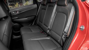 Hyundai Kona - back seats