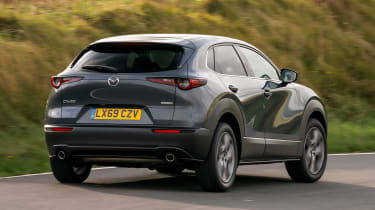 Mazda CX-30 - rear cornering