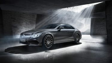 Mercedes CLS Final Edition front grey