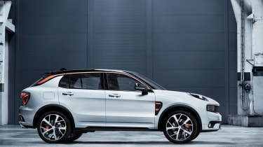 Lynk and Co SUV concept side