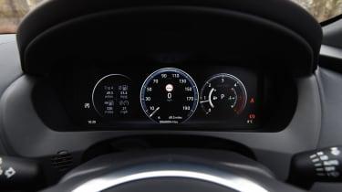 Jaguar F-Pace - speedo