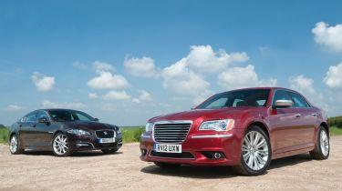 Chrysler 300C vs Jaguar XF