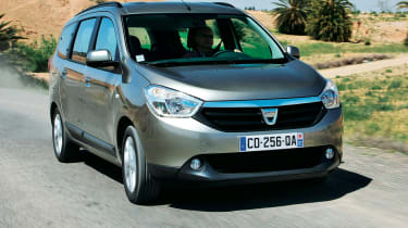 Dacia Lodgy front tracking