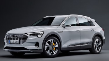 Audi e-tron 50 - front 3/4 static