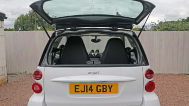 Used Smart ForTwo - rear window