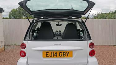 Used Smart ForTwo - rear window