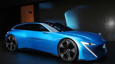 Peugeot Instinct concept Geneva - front
