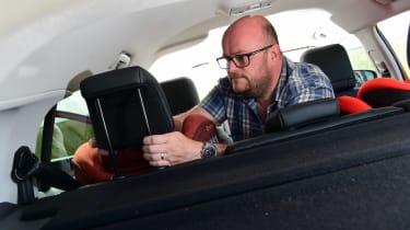 Citroen C5 Aircross long termer second report - headrest