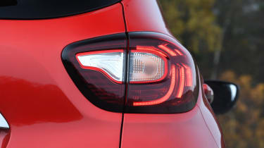 renault captur rear light