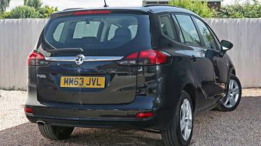 Used Vauxhall Zafira Tourer - rear