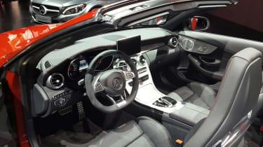 Mercedes C-Class Cabriolet - interior show