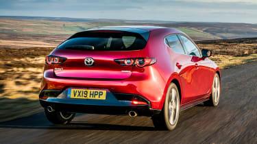 Mazda 3 - rear