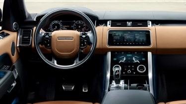 Range Rover Sport - dash