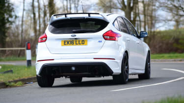 Ford Focus RS first UK drive - rear cornering