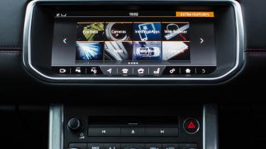 Range Rover Evoque Ember - infotainment