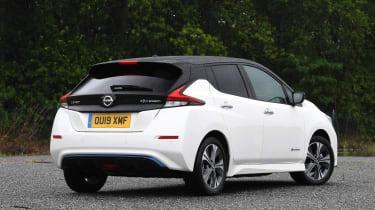 Nissan Leaf rear static