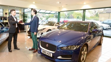 Jaguar XE Long term test - key exchange