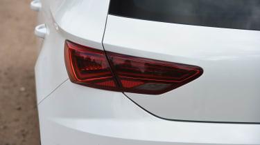 SEAT Leon - rear light detail