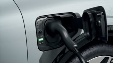 Renault Megane E-Tech Electric SUV - charging port open