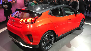 New Hyundai Veloster - Detroit rear