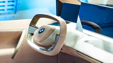 BMW Vision iNEXT concept - steering wheel