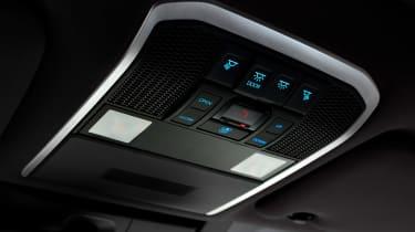 Toyota Land Cruiser - interior detail
