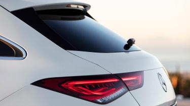 Mercedes CLA Shooting Brake - rear lights