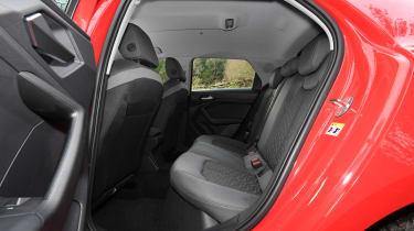 Audi A1 - rear seats