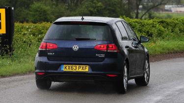 VW Golf - rear cornering