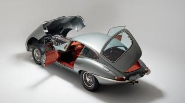 Helm Jaguar E-Type - open