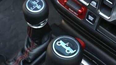 New Jeep Wrangler Rubicon - gears