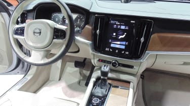 Volvo V90 - Geneva show interior