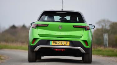 Vauxhall Mokka-e - rear cornering