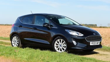 Ford Fiesta - front