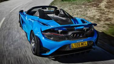 McLaren 765LT Spider - full rear
