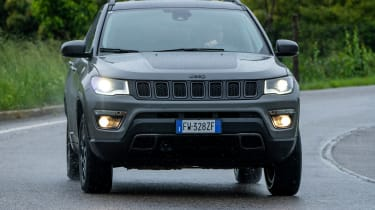 Jeep Compass Trailhawk - front cornering