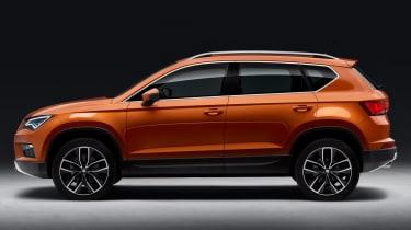 SEAT Ateca SUV 2016 - side