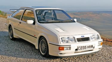 Ford Sierra RS Cosworth: 1986 - 1987